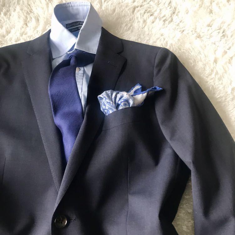 294 上品秋スーツ 肩パット無 軽量素材 英国調 エディフィスの上品 シャドーグレンチェックスーツ_画像3
