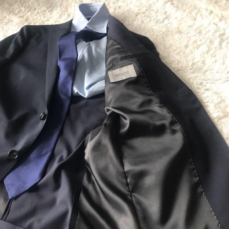 294 上品秋スーツ 肩パット無 軽量素材 英国調 エディフィスの上品 シャドーグレンチェックスーツ_画像4
