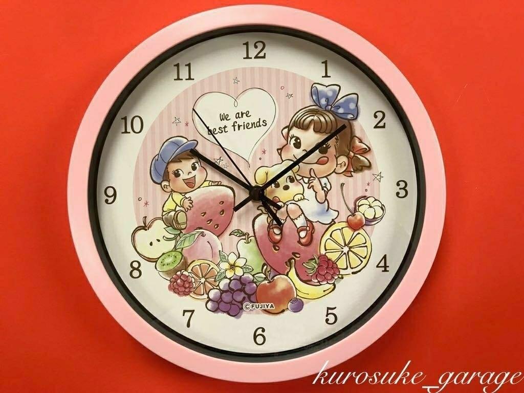 交換終了◆不二家ペコちゃん◆ペコちゃん壁掛時計◆非売品◆新品未使用品◆_画像2