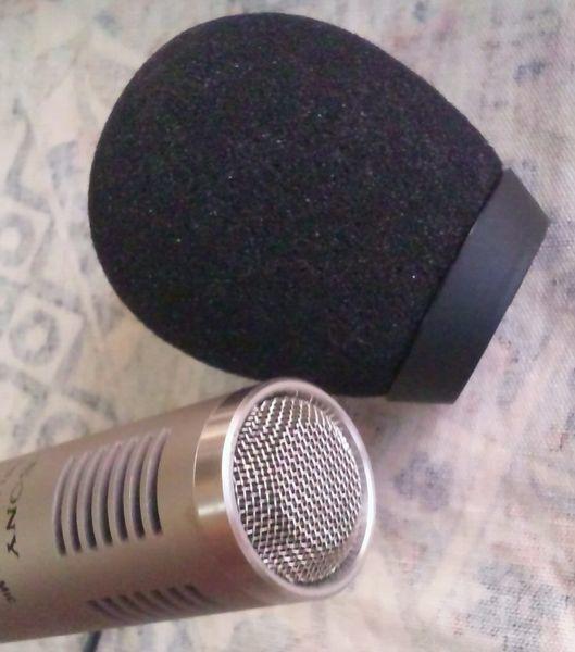 ジャンク SONY CRT-32 FMワイヤレスマイクロホン ワイヤレス マイク ソニー wireless microphone 中古_画像9