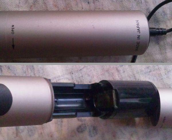 ジャンク SONY CRT-32 FMワイヤレスマイクロホン ワイヤレス マイク ソニー wireless microphone 中古_画像7