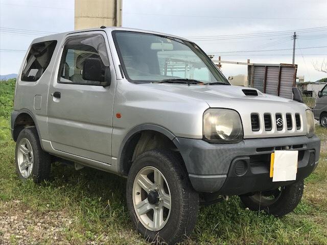 大人気! スズキ ジムニ― 4WD 車検令和3年1月まで ※難あり _画像3