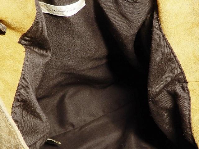即決★nano universe★オールレザートートバッグ ナノユニバース メンズ 黄 茶 本革 ハンドバッグ 本皮 かばん 通勤 トラベル 出張 カバン_画像7