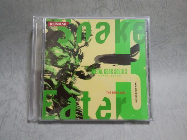 PS2 METAL GEAR SOLID3 メタルギアソリッド3 SNAKE EATER 特典CD SPECIAL CAMOUFLAGE KEY DISC_画像1
