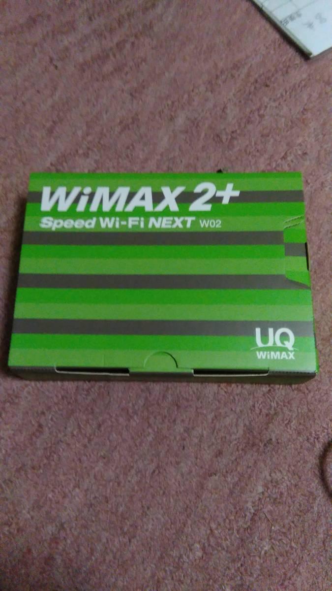 ★☆UQ  W02  WiMAX 2+  Speed  Wi-Fi  NEXT  グリーン  判定○ 初期化済み HWD33☆★_画像4