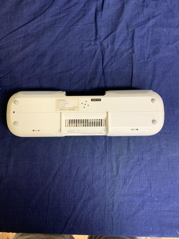 中古 現状 Victor ポータブルオーディオシステム RA-P10-W 動作品 2007年製 音出し確認済み リモコン欠品 音響機器 ビクター ☆U 60_画像6