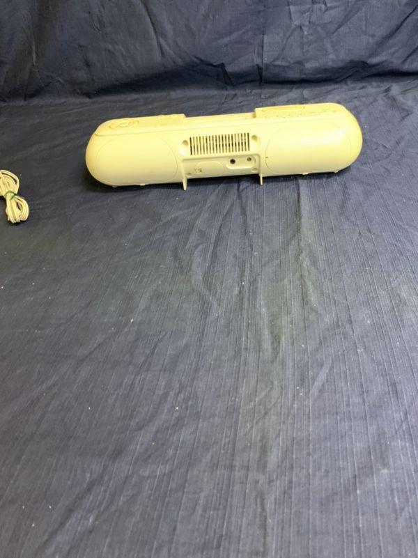 中古 現状 Victor ポータブルオーディオシステム RA-P10-W 動作品 2007年製 音出し確認済み リモコン欠品 音響機器 ビクター ☆U 60_画像4