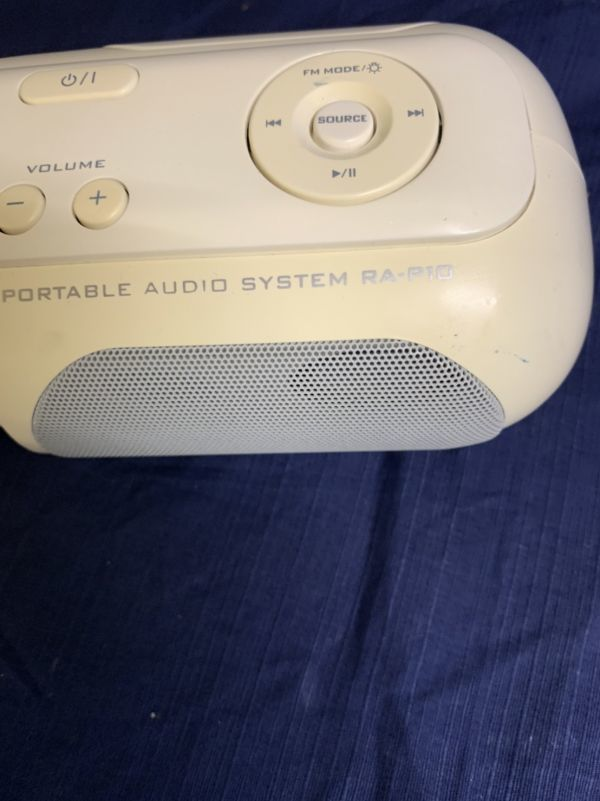 中古 現状 Victor ポータブルオーディオシステム RA-P10-W 動作品 2007年製 音出し確認済み リモコン欠品 音響機器 ビクター ☆U 60_画像9