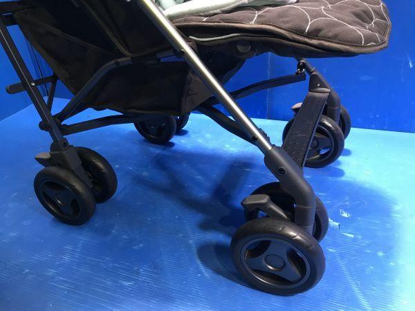 1 美品【 Silver Cross / シルバークロス 】A型ベビーカー 移動用品 赤ちゃんお散歩 重量8kg pop vogue 160_画像5