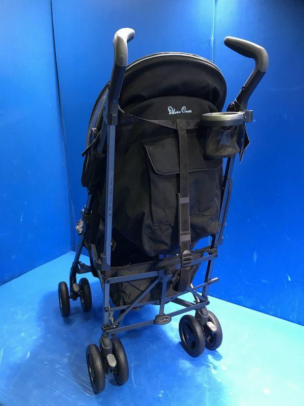 1 美品【 Silver Cross / シルバークロス 】A型ベビーカー 移動用品 赤ちゃんお散歩 重量8kg pop vogue 160_画像6