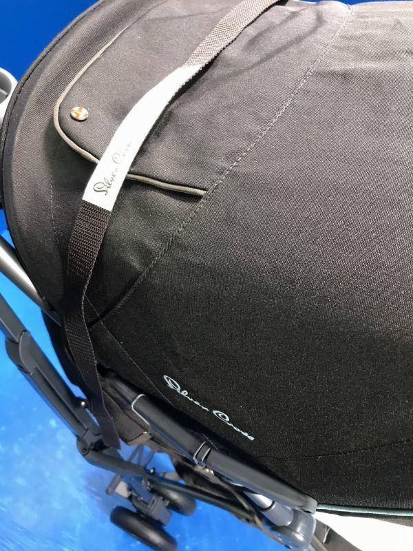 1 美品【 Silver Cross / シルバークロス 】A型ベビーカー 移動用品 赤ちゃんお散歩 重量8kg pop vogue 160_画像3