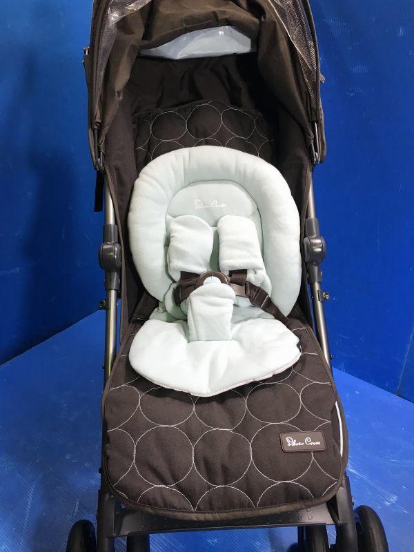 1 美品【 Silver Cross / シルバークロス 】A型ベビーカー 移動用品 赤ちゃんお散歩 重量8kg pop vogue 160_画像4