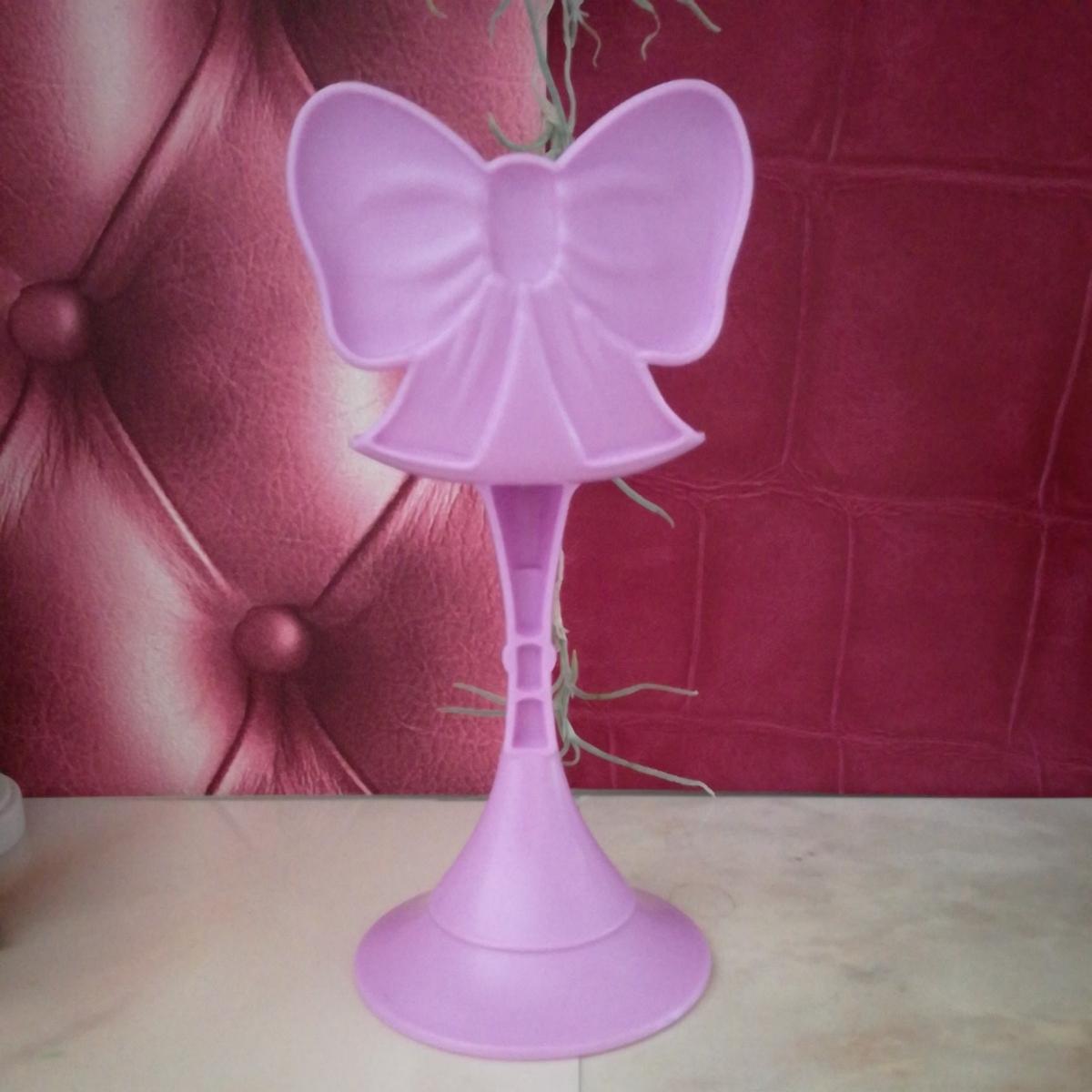 複数有 人形用小物 パープル リボン 椅子 いす イス チェア 人形用 バービー ジェニー momoko 27cmドール 1/6サイズドール_画像4