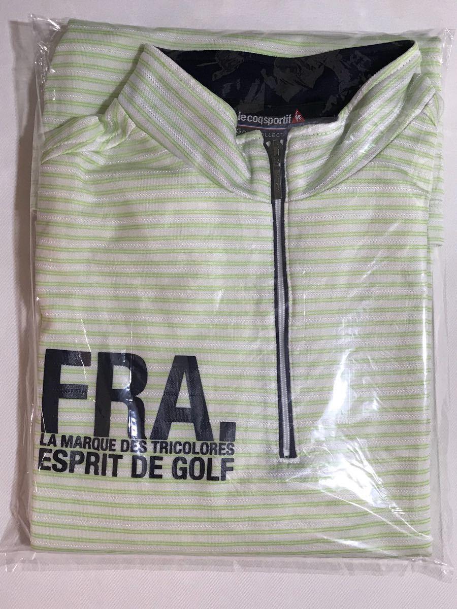 ルコック le coq sportif ルコックスポルティフ ゴルフウェアー 半袖 シャツ Mサイズ_画像9