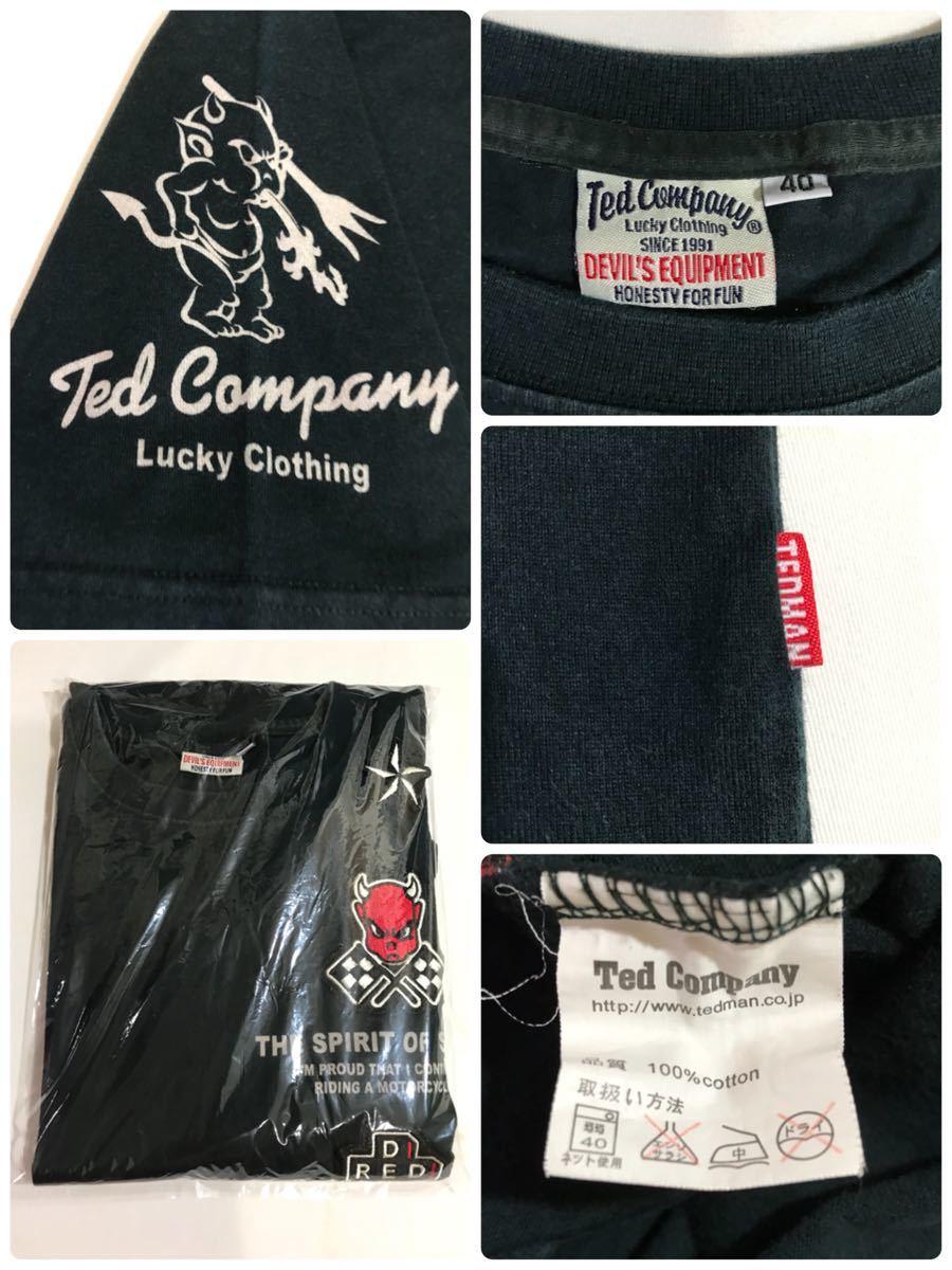 テッドカンパニー Ted Company 半袖 Tシャツ メンズ ファッション 衣類 サイズ40_画像3