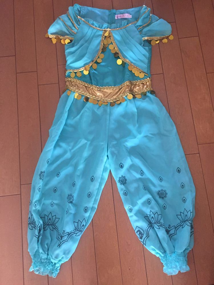 130ディズニー ジャスミン風ハロウィン衣装 コスプレ