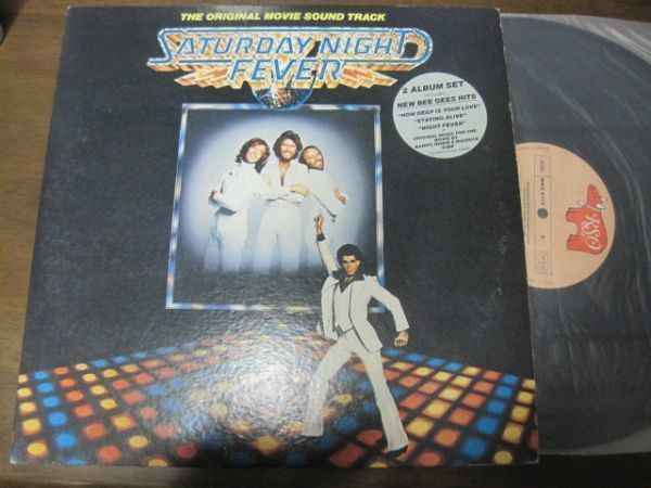 Saturday Night Fever (The Original Movie Sound Track) /映画サウンドトラック/国内盤LPレコード2枚組_画像1