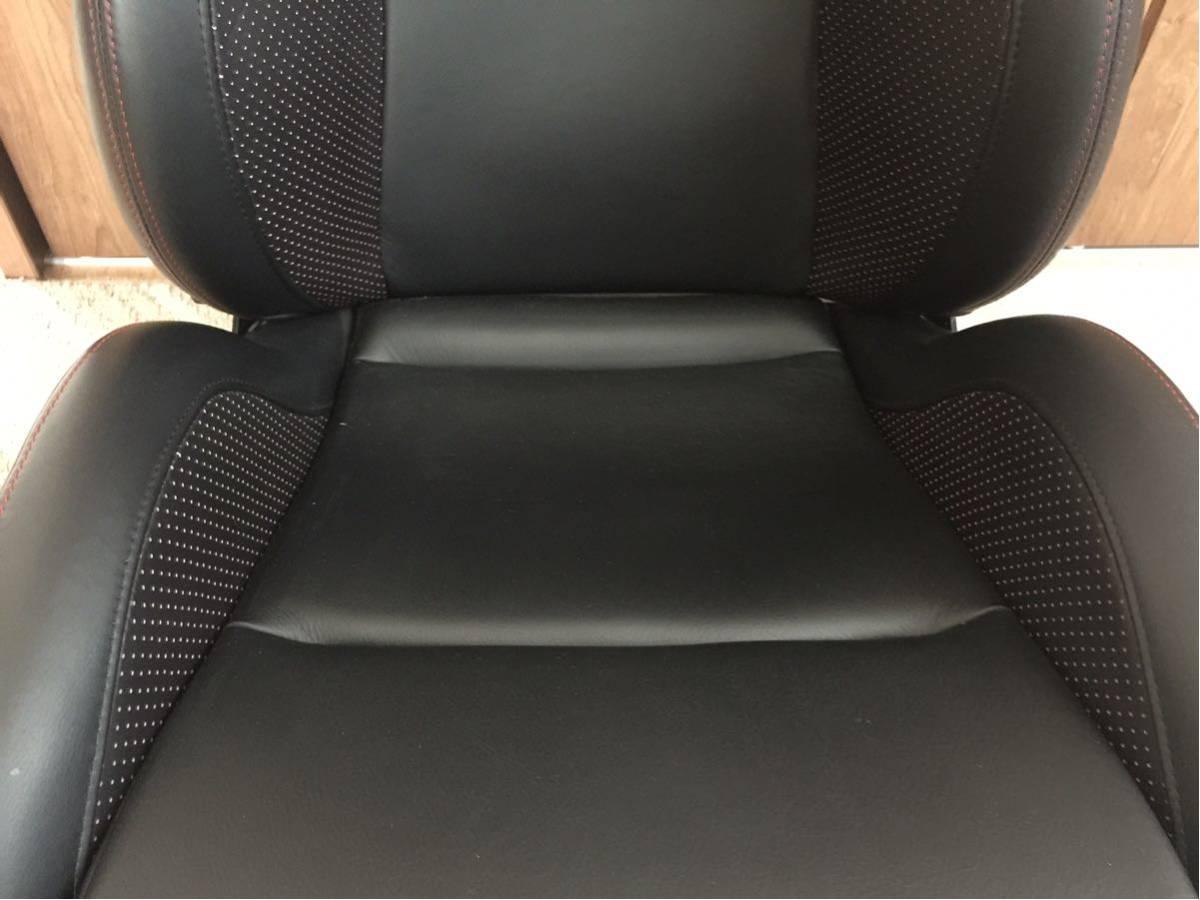 レカロ最高峰初代SP-X極上美品!希少なレカロ最高峰ドライカーボンスポーツシート・プレミアムレザー仕様!_画像2