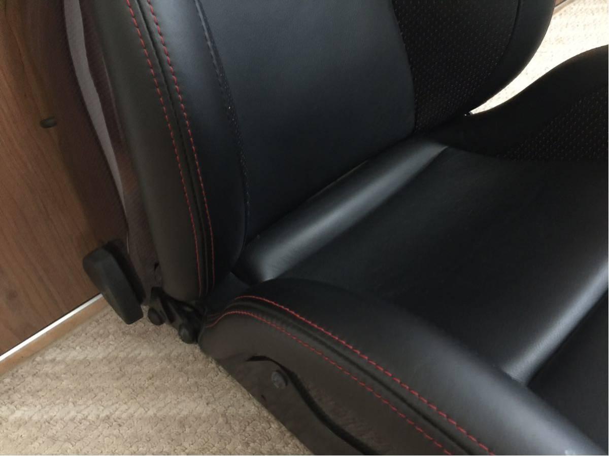 レカロ最高峰初代SP-X極上美品!希少なレカロ最高峰ドライカーボンスポーツシート・プレミアムレザー仕様!_画像3