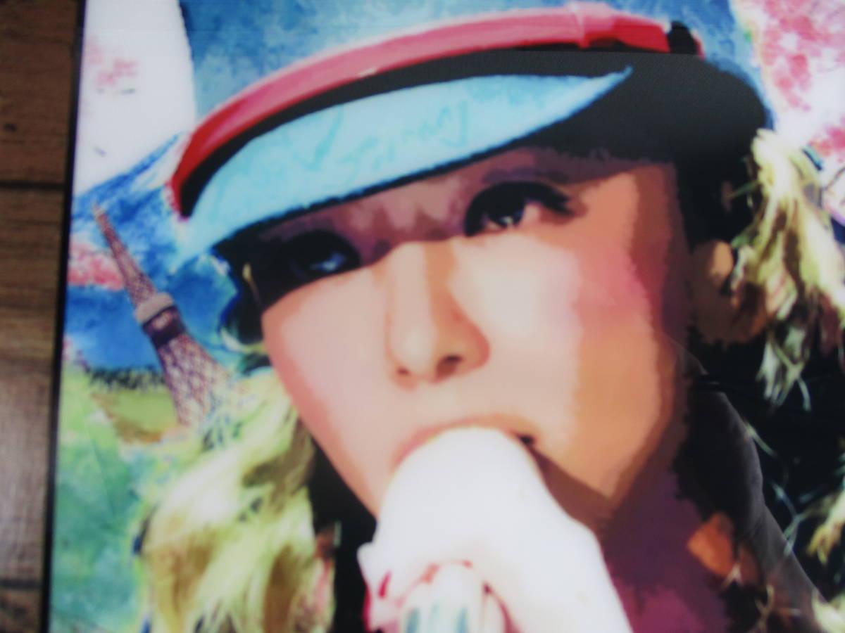 新品 安室奈美恵 あむろなみえ アムロ 壁掛けパネル ポップアートフレーム ポップアートパネル インテリアボード ファブリックパネル J-POP_画像6