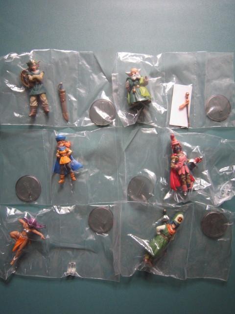 ドラゴンクエスト キャラクターフィギュアコレクション 天空編 第1弾 シークレット込 全8種セット!_画像2