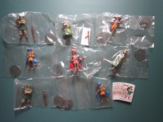 ドラゴンクエスト キャラクターフィギュアコレクション 天空編 第1弾 シークレット込 全8種セット!_画像1