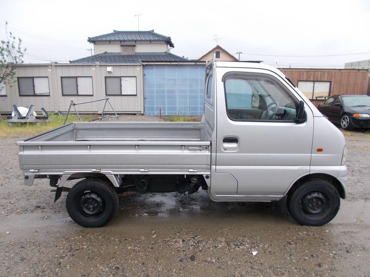 「新潟 13年キャリイトラック エアコン・パワステ・切替式4WD・オートマ タイベル済」の画像2