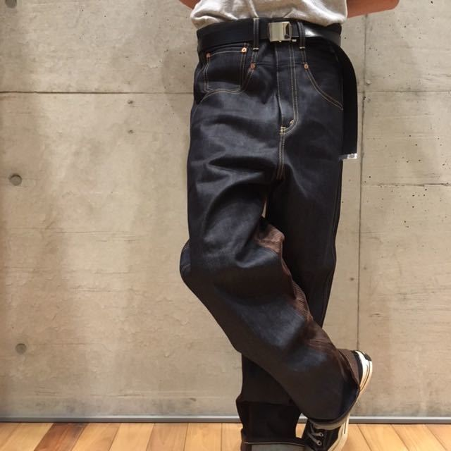 XS Junya watanabe man levis eye ジュンヤマン コーデュロイ 切替 デニム パンツ / コムデギャルソン homme plus shirt deux supreme _画像8