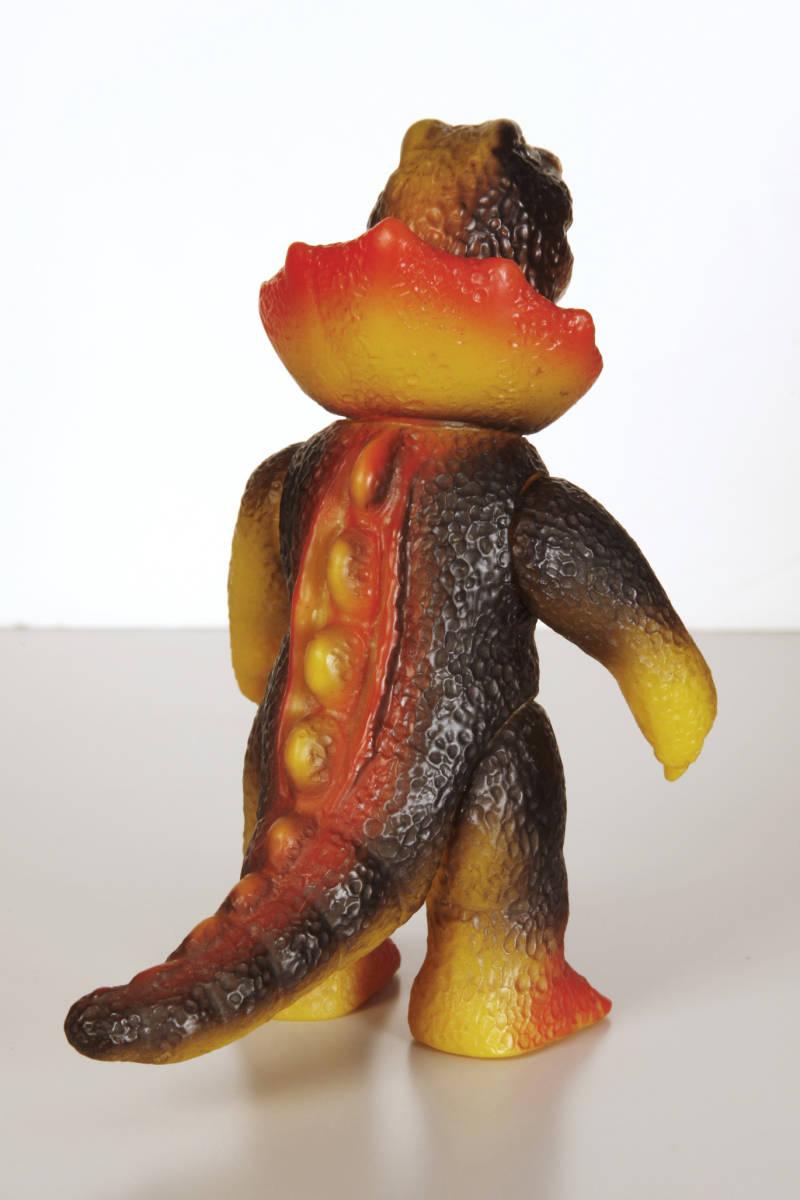 ぶたのはな ジラース ソフビ ソフト焼き玩具 ブルマァク マルサン M1号 中古_画像2