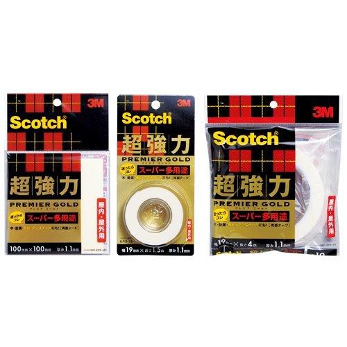 [限定]3Mスコッチ超強力両面テープ プレミアゴールドスーパー_画像3
