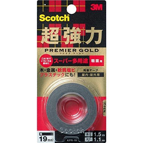 [限定]3Mスコッチ超強力両面テープ プレミアゴールドスーパー
