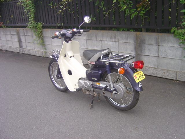 スーパーカブ90DX 2007年モデル 低走行5450Km 自賠責残あり_画像2