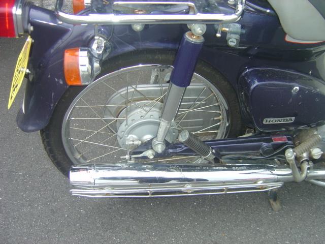 スーパーカブ90DX 2007年モデル 低走行5450Km 自賠責残あり_画像10
