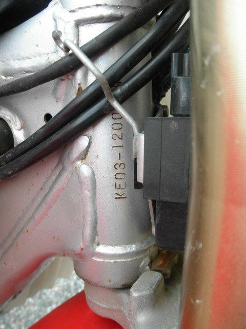 「ホンダ CRF150R KE03 レース車 不動 現状売切り」の画像3