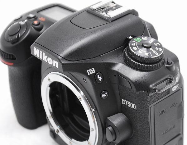 【新品級の超美品 6355ショット】Nikon ニコン D7500