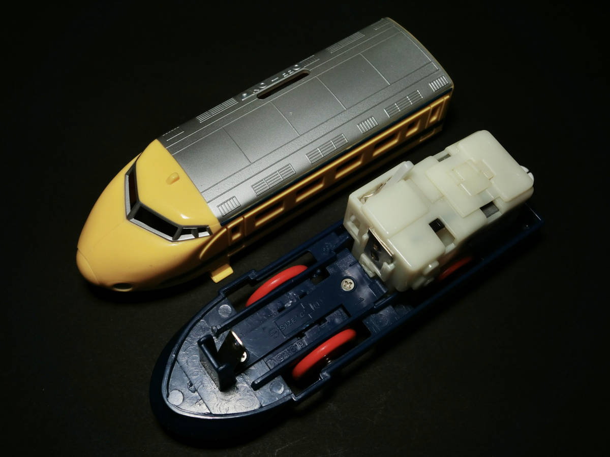 旧TOMYプラレール(タイ製) 『ドクターイエロー 0系新幹線』動作確認済/鉄道模型玩具/JR東海道山陽新幹線_画像5