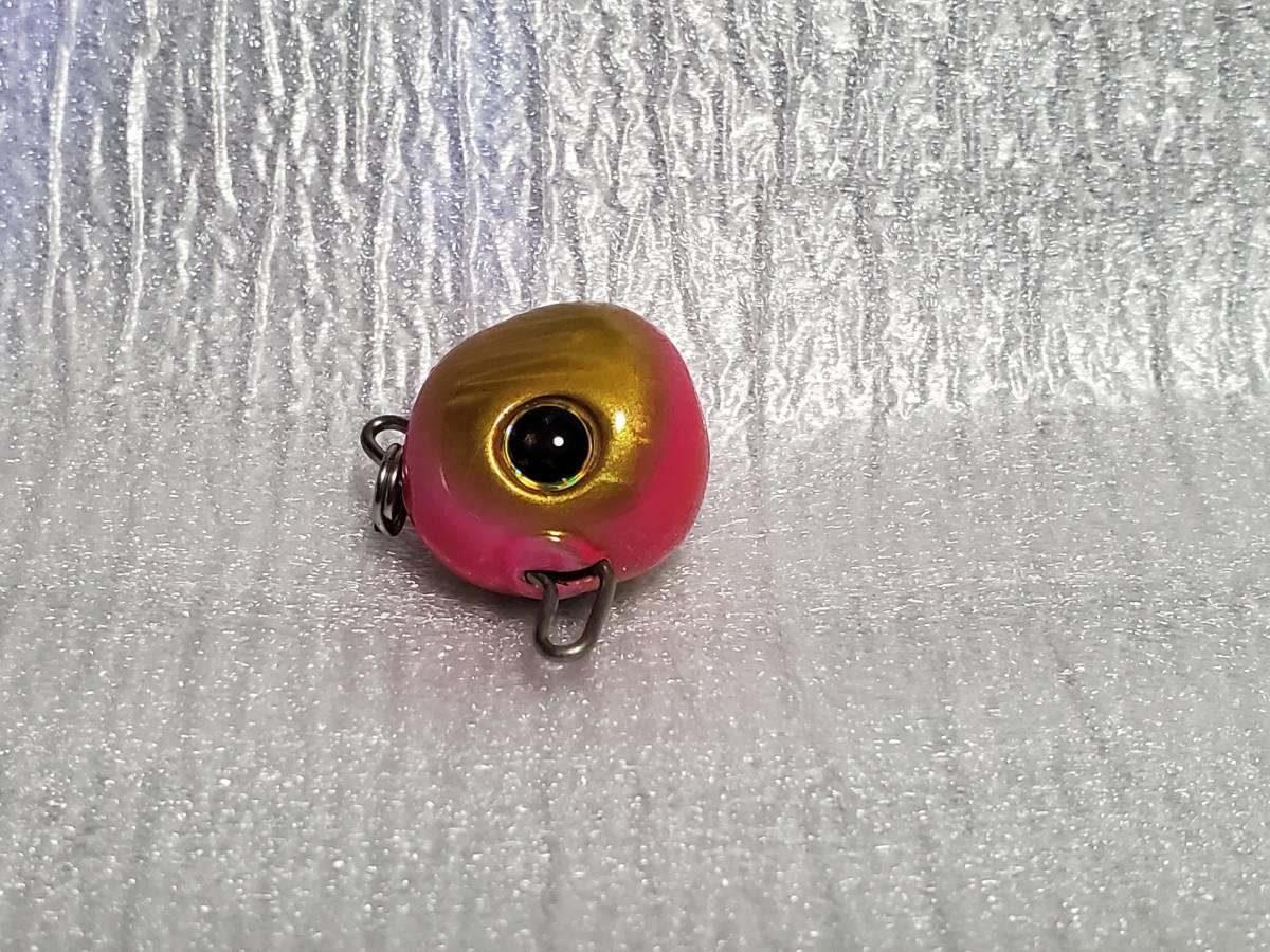 美品 タイラバ ビンビン玉 タングステン 鯛カブラ 4個セット 3個未使用 1円スタート_画像2