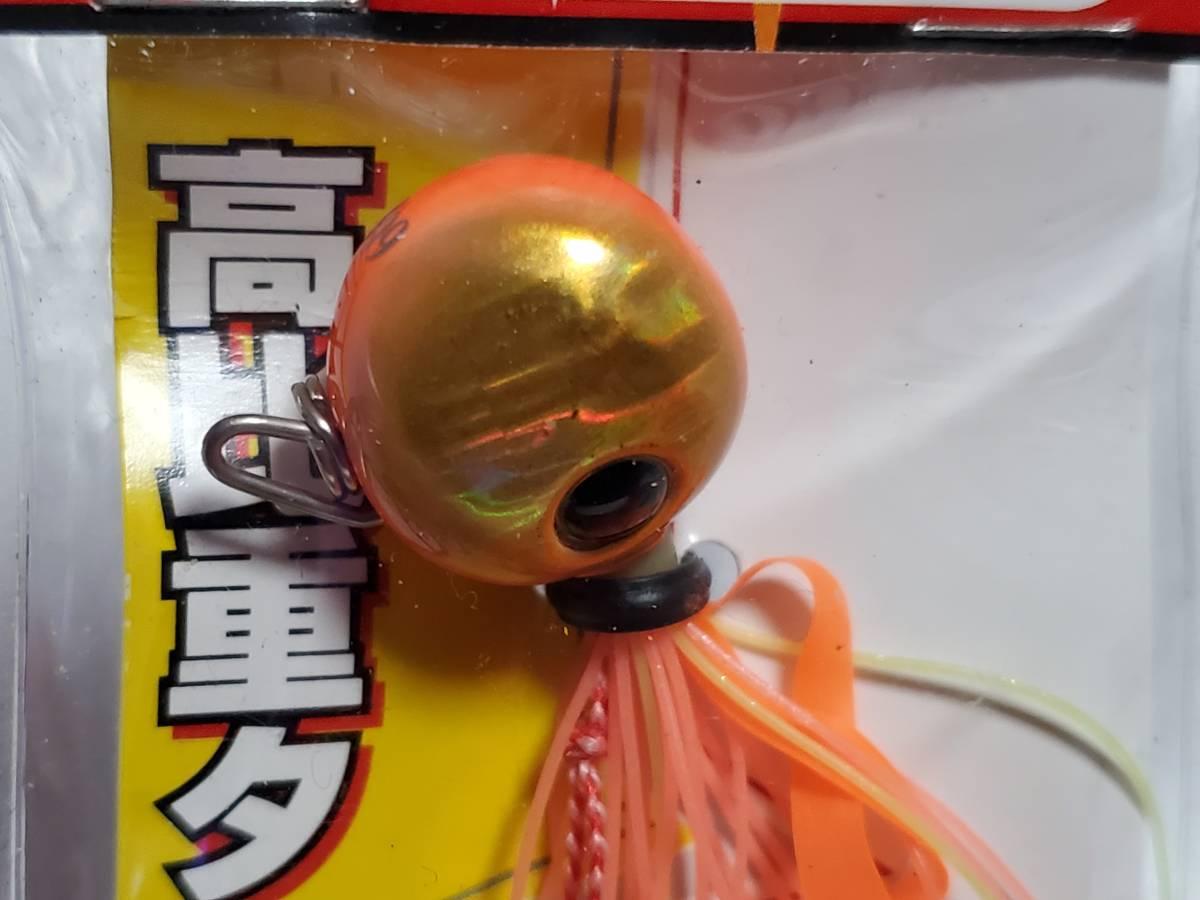 美品 タイラバ ビンビン玉 タングステン 鯛カブラ 4個セット 3個未使用 1円スタート_画像3