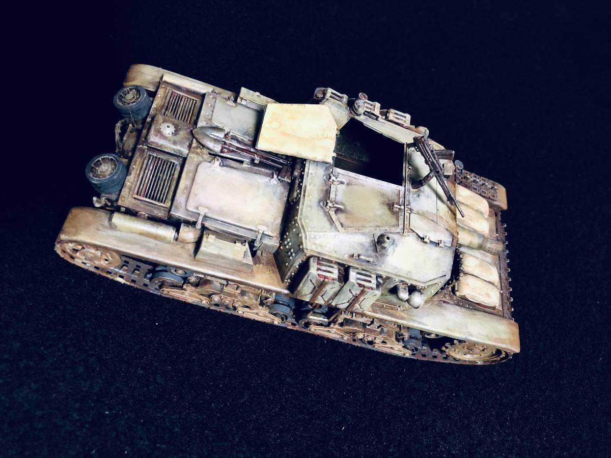 【完成品】セモベンテ突撃砲 タミヤ イタリア突撃砲セモベンテM40_画像4