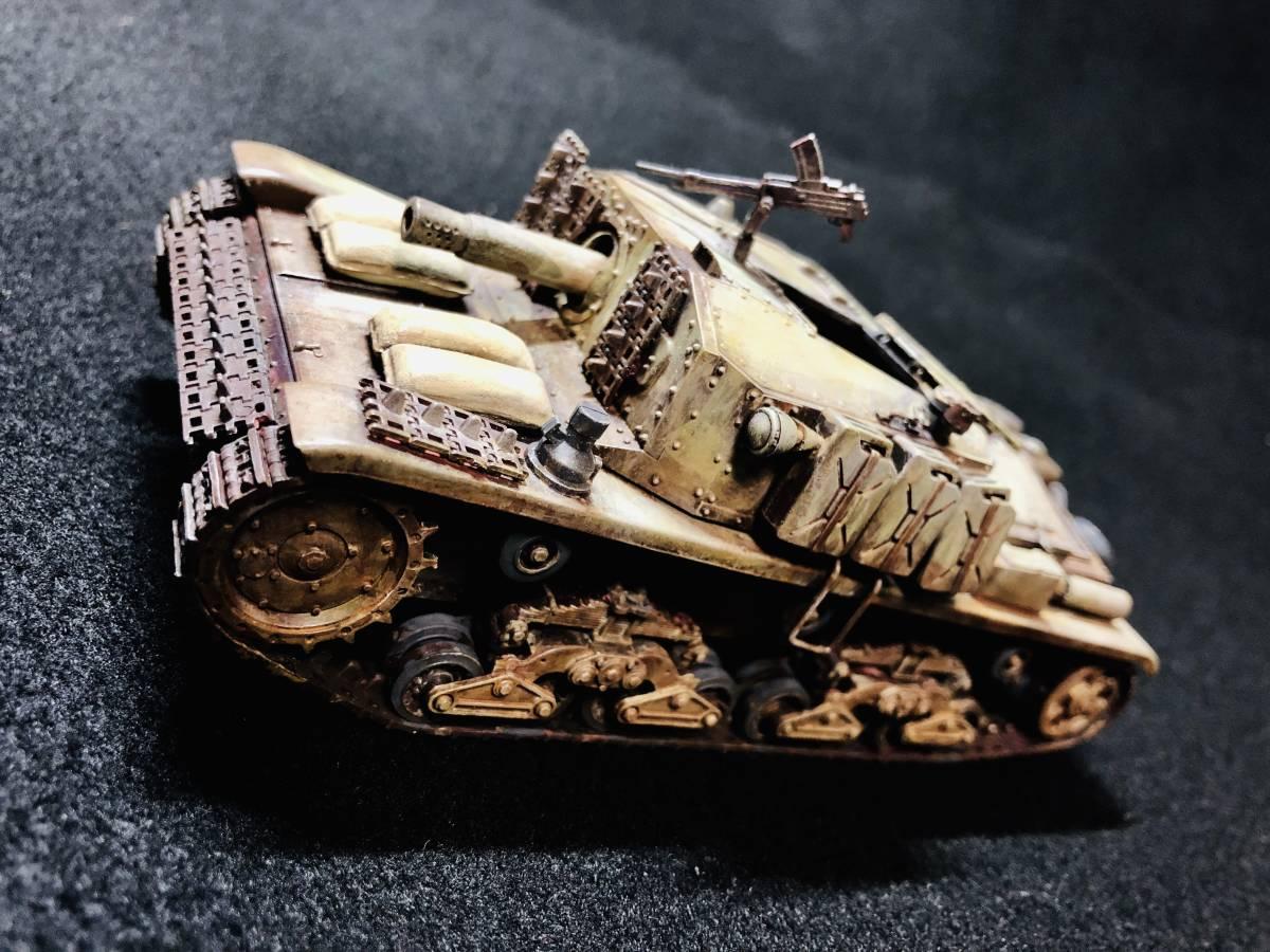 【完成品】セモベンテ突撃砲 タミヤ イタリア突撃砲セモベンテM40_画像2