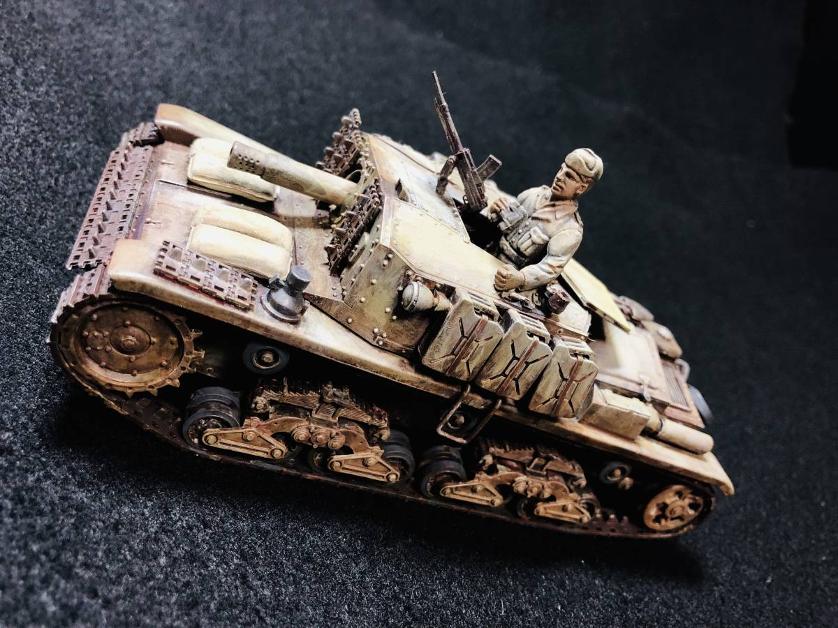 【完成品】セモベンテ突撃砲 タミヤ イタリア突撃砲セモベンテM40_画像3