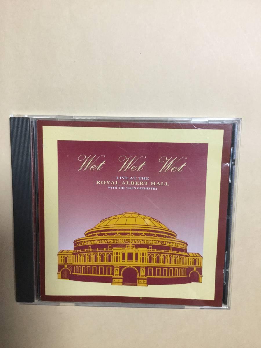 送料無料 Wet Wet Wet「LIVE AT THE ROYAL ALBERT HALL」ライヴ盤