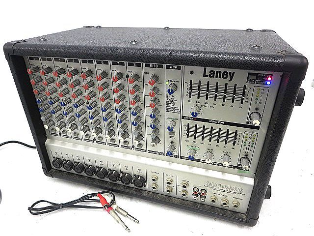 Laney CD1090S POWERED MIXER WITH DSP ミキサー 通電OK m16y