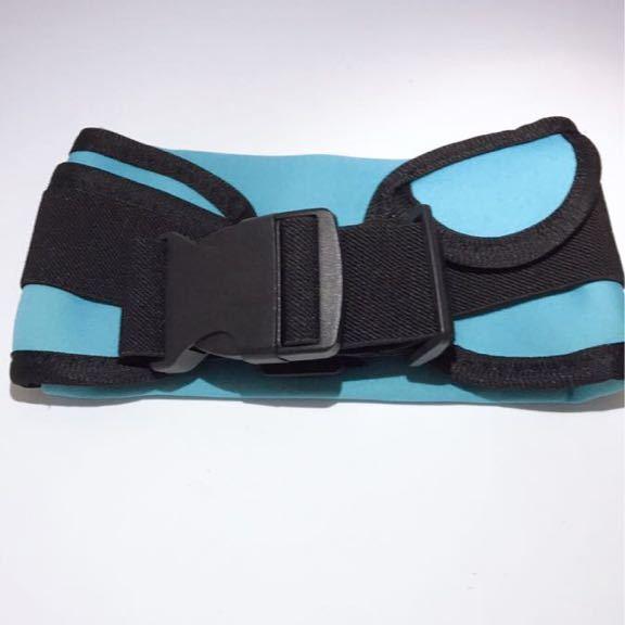 ランニングポーチ  防水 ウエストポーチ ウエストバッグ ランニングバッグ ウォーキング 揺れない スマホ iPhone XS Max スカイブルー