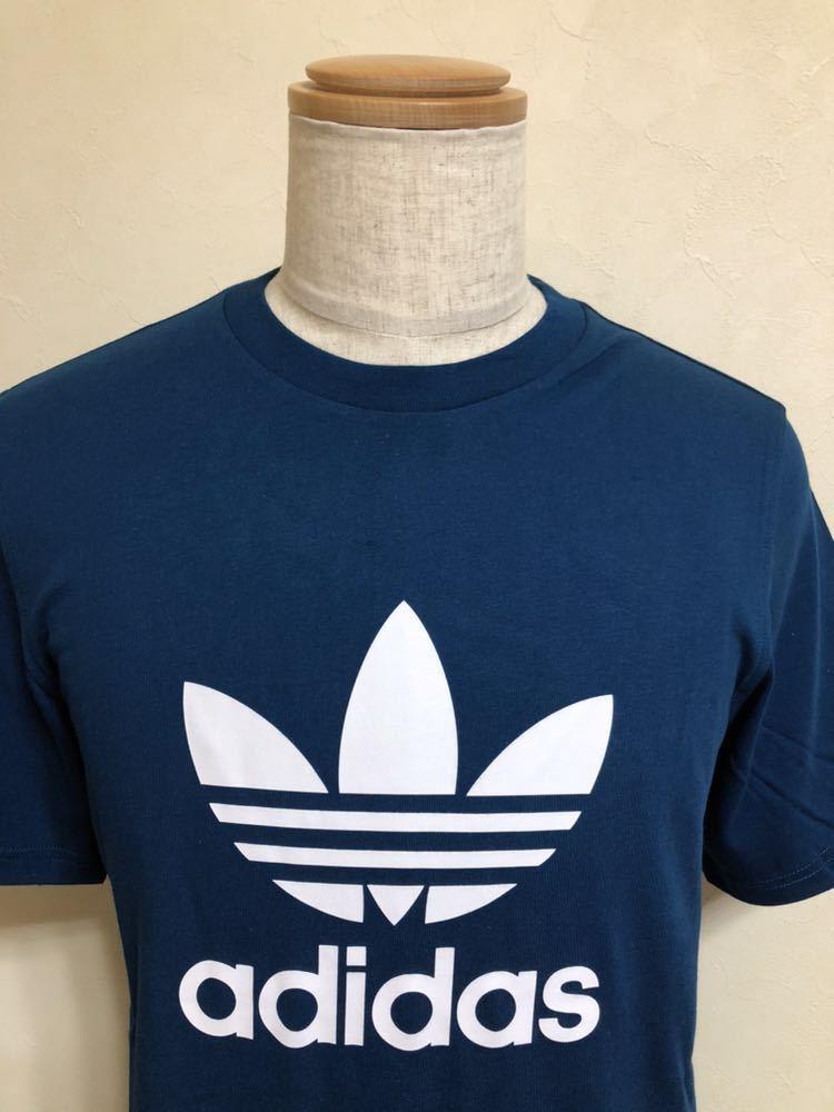 【新品】 adidas originals TREFOIL TEE アディダス オリジナルス トレフォイル ビッグロゴ Tシャツ サイズM LEGMAR 半袖 DV1603_画像3