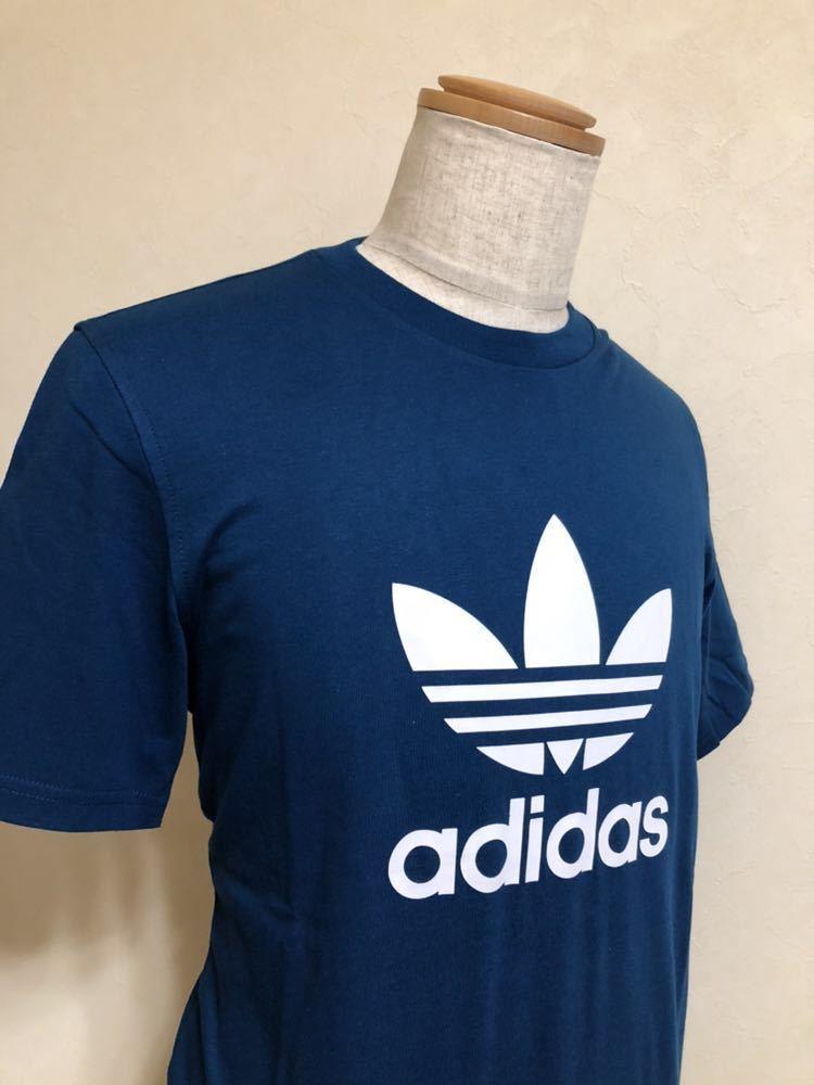 【新品】 adidas originals TREFOIL TEE アディダス オリジナルス トレフォイル ビッグロゴ Tシャツ サイズM LEGMAR 半袖 DV1603_画像7