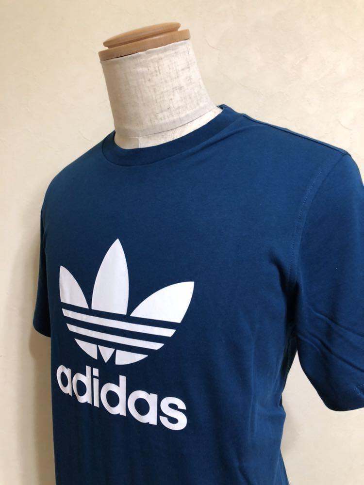 【新品】 adidas originals TREFOIL TEE アディダス オリジナルス トレフォイル ビッグロゴ Tシャツ サイズM LEGMAR 半袖 DV1603_画像9