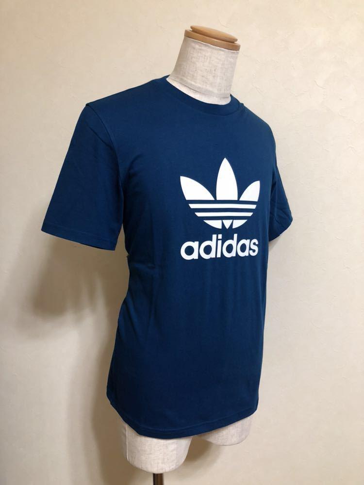 【新品】 adidas originals TREFOIL TEE アディダス オリジナルス トレフォイル ビッグロゴ Tシャツ サイズM LEGMAR 半袖 DV1603_画像6