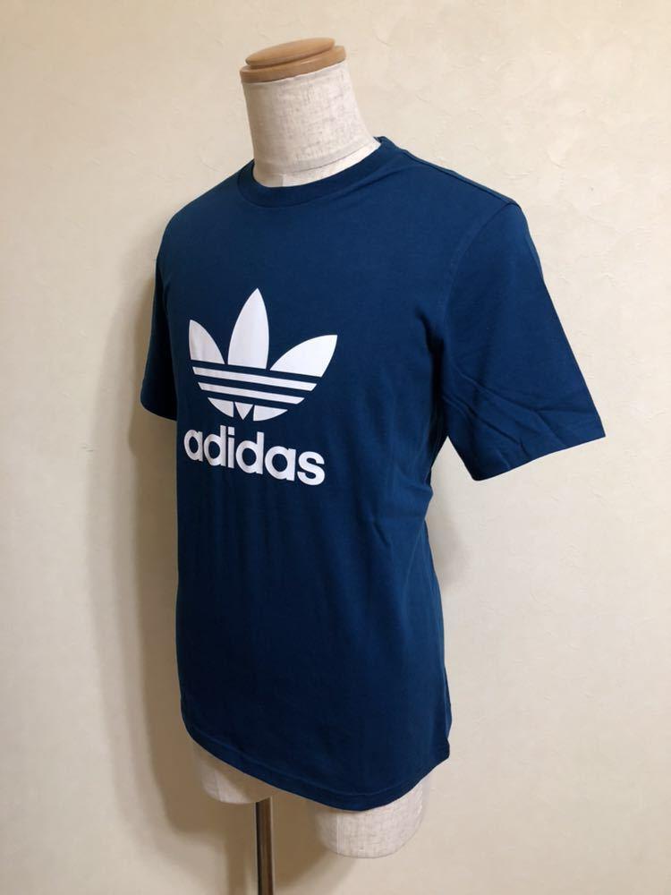 【新品】 adidas originals TREFOIL TEE アディダス オリジナルス トレフォイル ビッグロゴ Tシャツ サイズM LEGMAR 半袖 DV1603_画像8