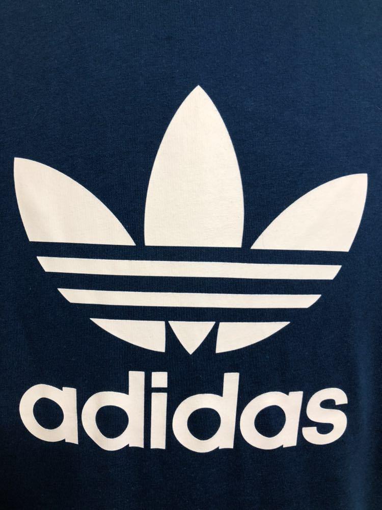 【新品】 adidas originals TREFOIL TEE アディダス オリジナルス トレフォイル ビッグロゴ Tシャツ サイズM LEGMAR 半袖 DV1603_画像10